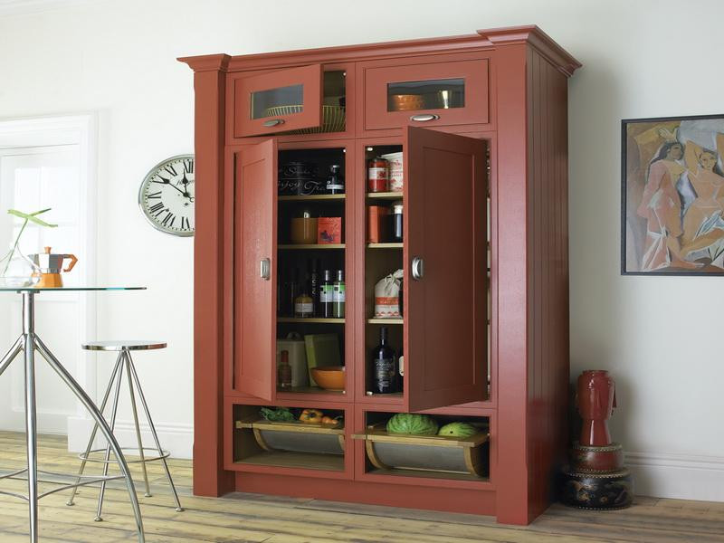 Best ideas about Free Standing Kitchen Pantry Cabinet . Save or Pin freestanding pantry cabinet – Roselawnlutheran Now.