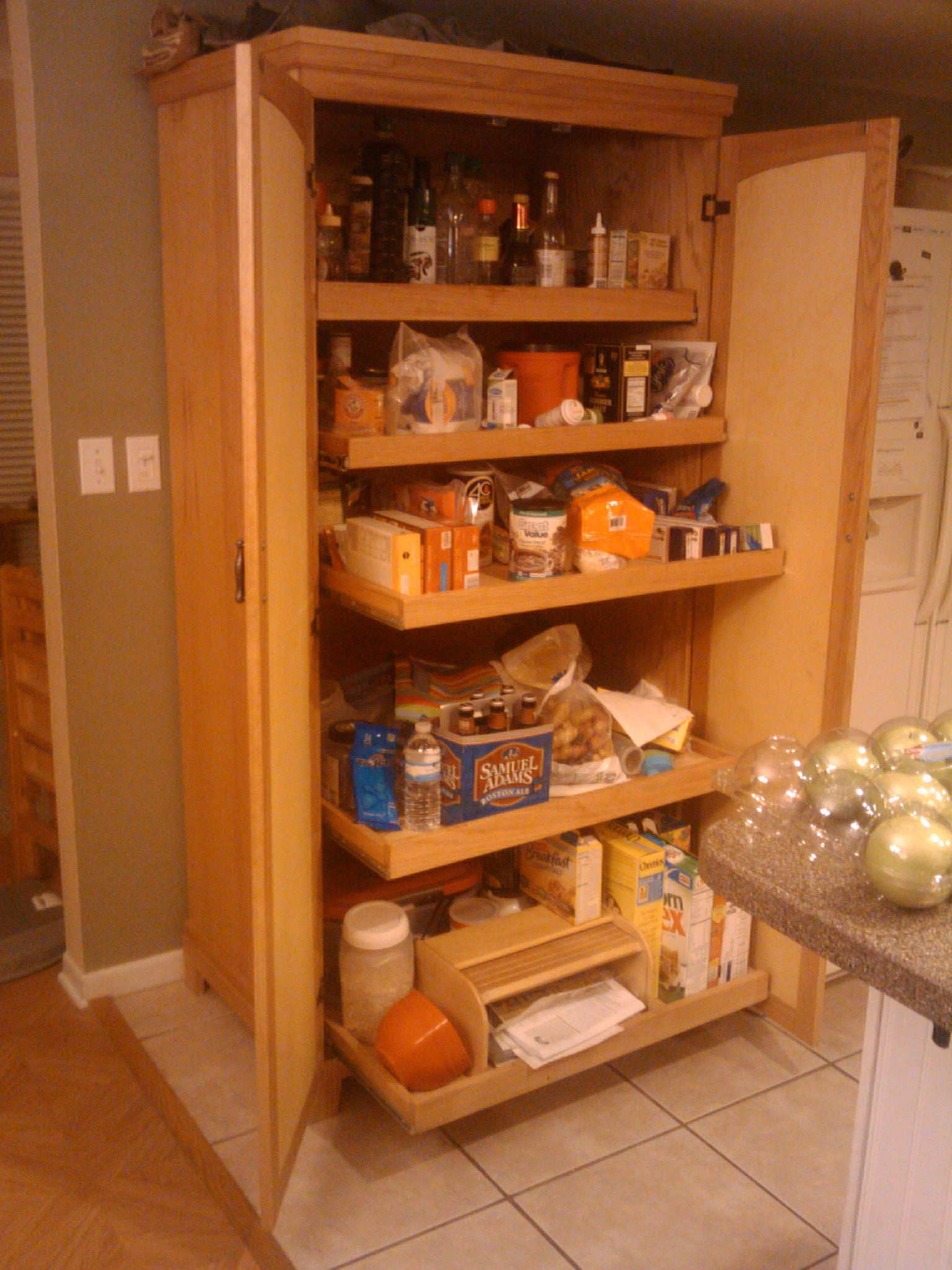 Best ideas about Free Standing Kitchen Pantry Cabinet . Save or Pin Kitchen Pantry Cabinets Freestanding with Free Standing Now.