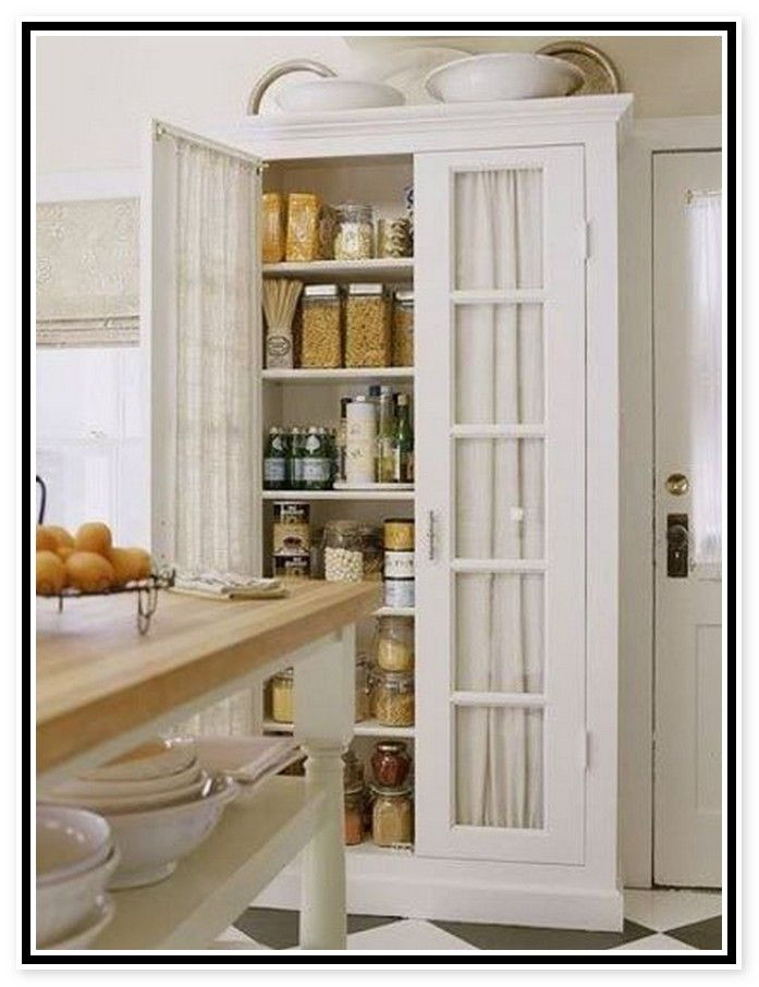 Best ideas about Free Standing Kitchen Pantry Cabinet . Save or Pin 25 best ideas about Free standing kitchen cabinets on Now.