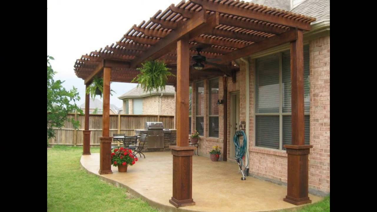 Best ideas about Free Standing Patio Cover . Save or Pin Patio Cover Designs Wood Patio Cover Designs Now.