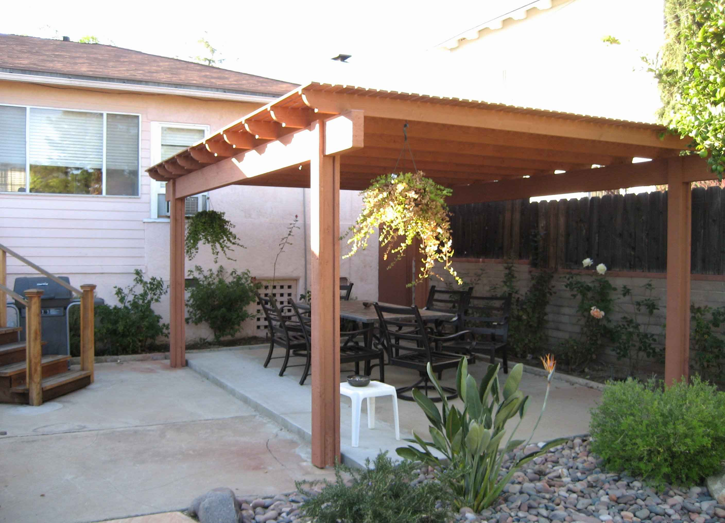 Best ideas about Free Standing Patio Cover . Save or Pin How to Build A Freestanding Patio Cover with Best 10 Now.
