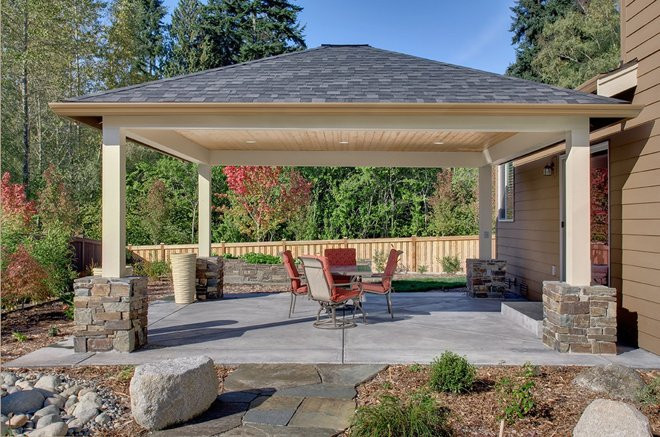 Best ideas about Free Standing Patio Cover . Save or Pin Free standing patio covers Now.