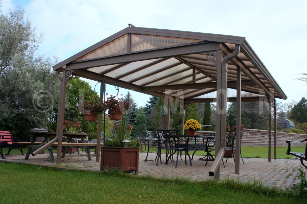 Best ideas about Free Standing Patio Cover . Save or Pin Enjoy Summer More With a Patio by GreenFIT Homes Now.