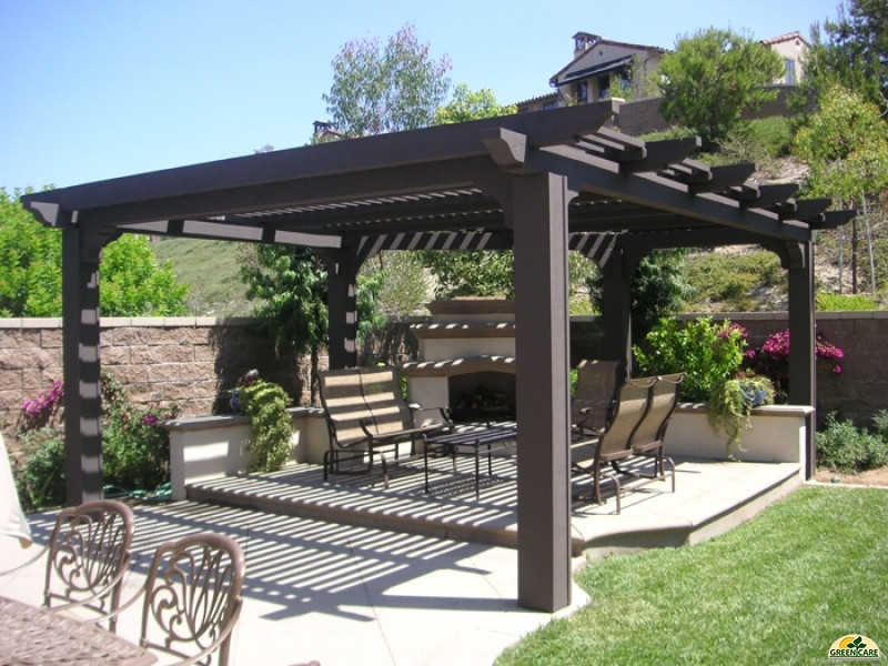 Best ideas about Free Standing Patio Cover . Save or Pin Patio Covers in Las Vegas GreenCare NET Pool Builders Now.