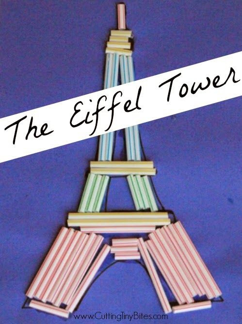 Best ideas about French Crafts For Kids . Save or Pin Eiffel Tower Craft on Pinterest Now.