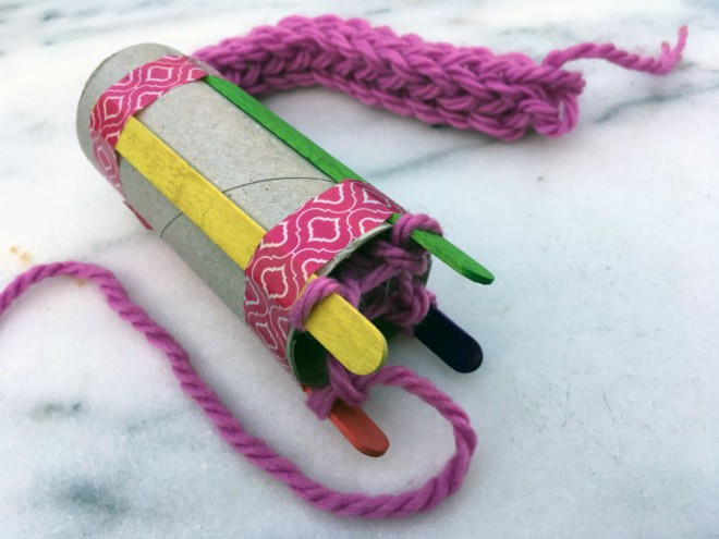 Best ideas about French Crafts For Kids . Save or Pin How To Do French Knitting Red Kite Days Now.