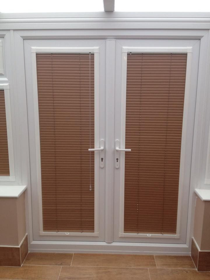 Best ideas about French Patio Doors With Blinds . Save or Pin 13 best Blinds for French Doors –A way to secure and Now.