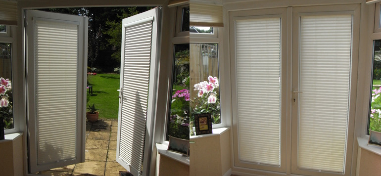 Best ideas about French Patio Doors With Blinds . Save or Pin Door Blinds INTU Perfect Fit Now.