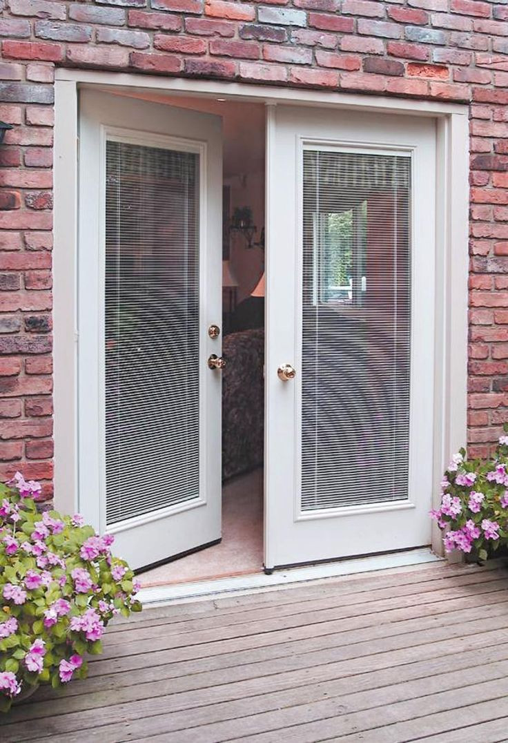 Best ideas about French Patio Doors With Blinds . Save or Pin Best 25 French patio ideas on Pinterest Now.