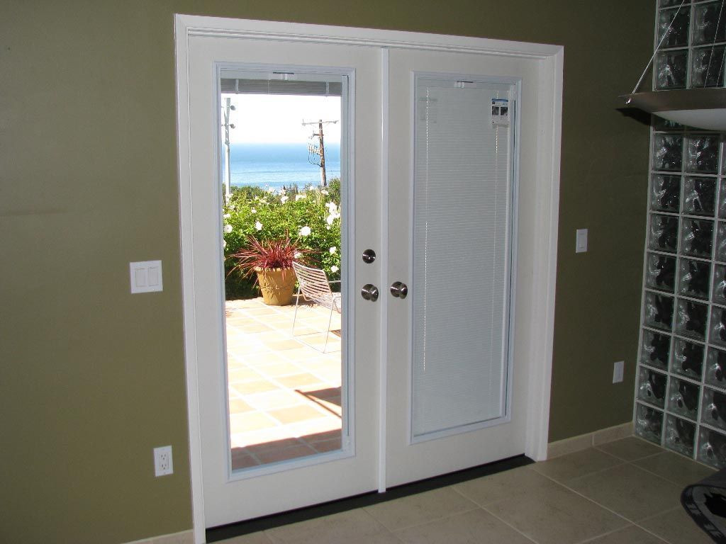 Best ideas about French Patio Doors With Blinds . Save or Pin French Door Blackout Shades Window Shades Now.