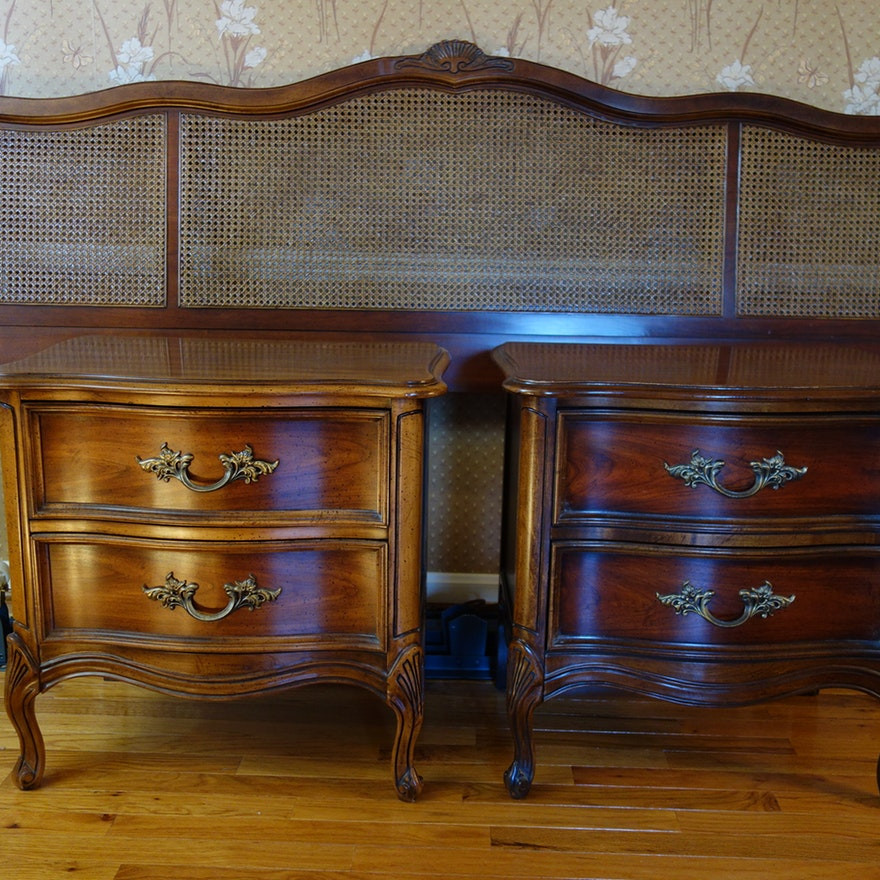 Best ideas about French Provincial Bedroom Set . Save or Pin Vintage Dixie Furniture French Provincial Bedroom Set 7 Now.