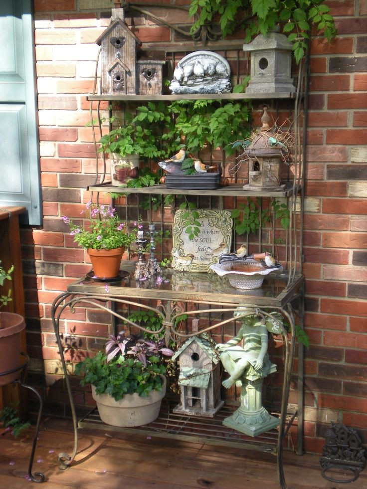 Best ideas about Front Porch Pantry . Save or Pin Best 25 Outdoor shelves ideas on Pinterest Now.