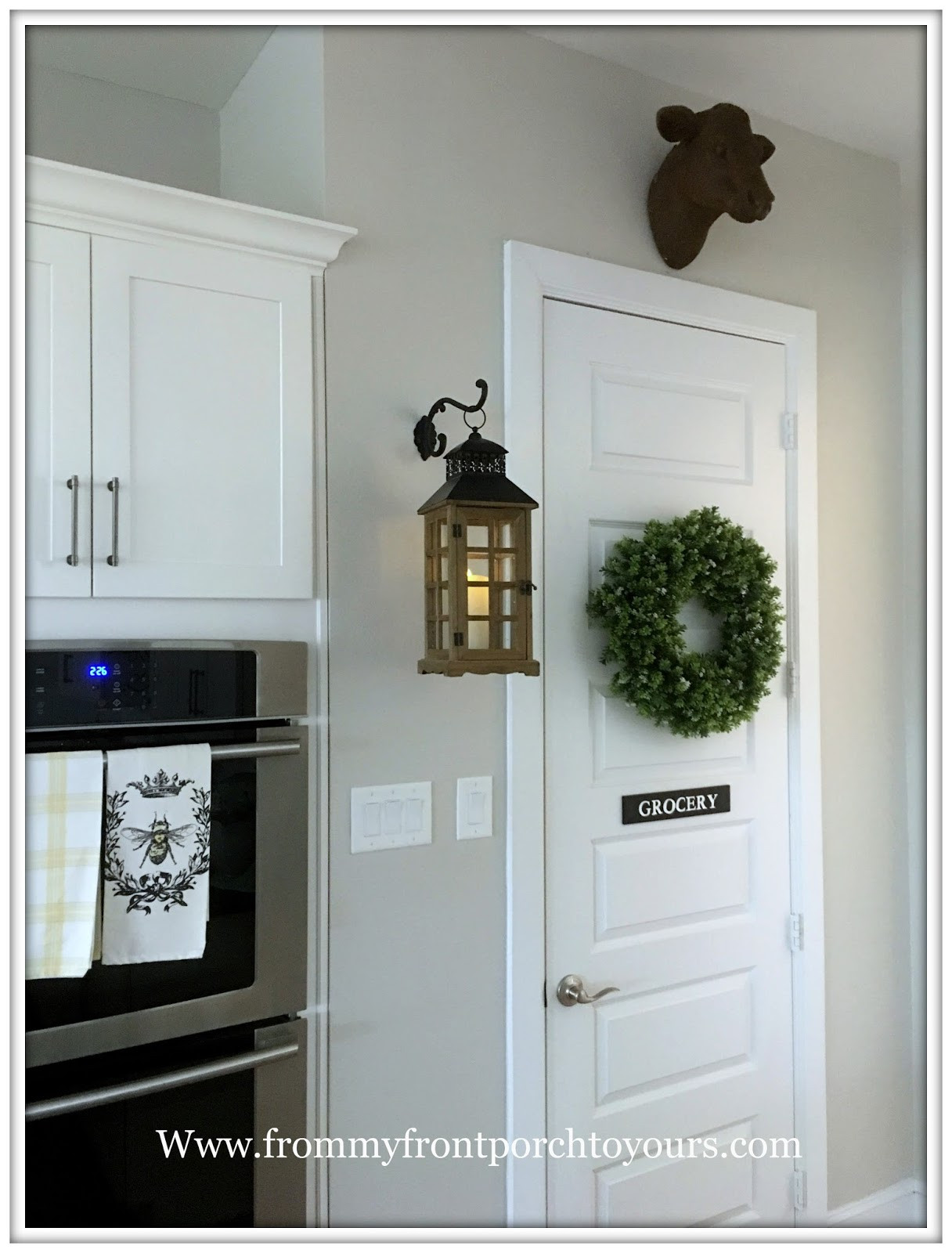 Best ideas about Front Porch Pantry . Save or Pin From My Front Porch To Yours Simple DIY Pantry Door Sign Now.