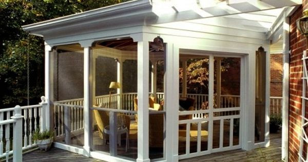 Best ideas about Front Porch Pantry . Save or Pin screened porch off pantry to replace awning area There Now.
