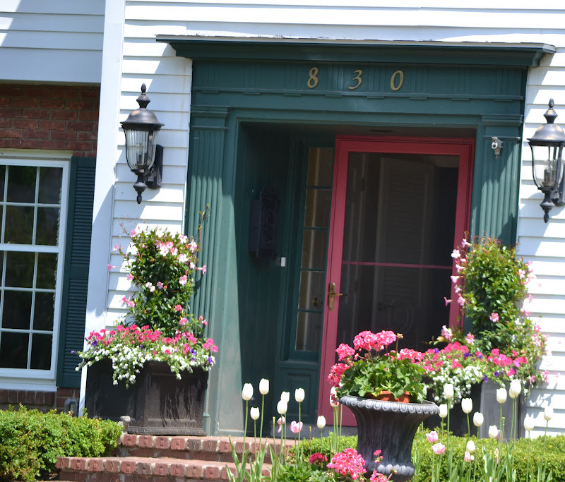 Best ideas about Front Porch Planter Ideas . Save or Pin Season The Day Summer Planter and Front Porch Ideas Now.