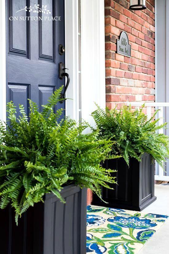 Best ideas about Front Porch Planter Ideas . Save or Pin Best 25 Front porch planters ideas on Pinterest Now.
