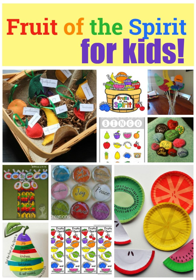 Best ideas about Fruit Of The Spirit Crafts For Kids . Save or Pin Resources to Teach the Fruits of the Spirit for Kids Now.
