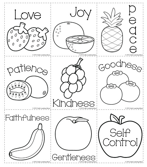 Best ideas about Fruit Of The Spirit Crafts For Kids . Save or Pin Fruit of the Spirit Memory Match Cards Now.