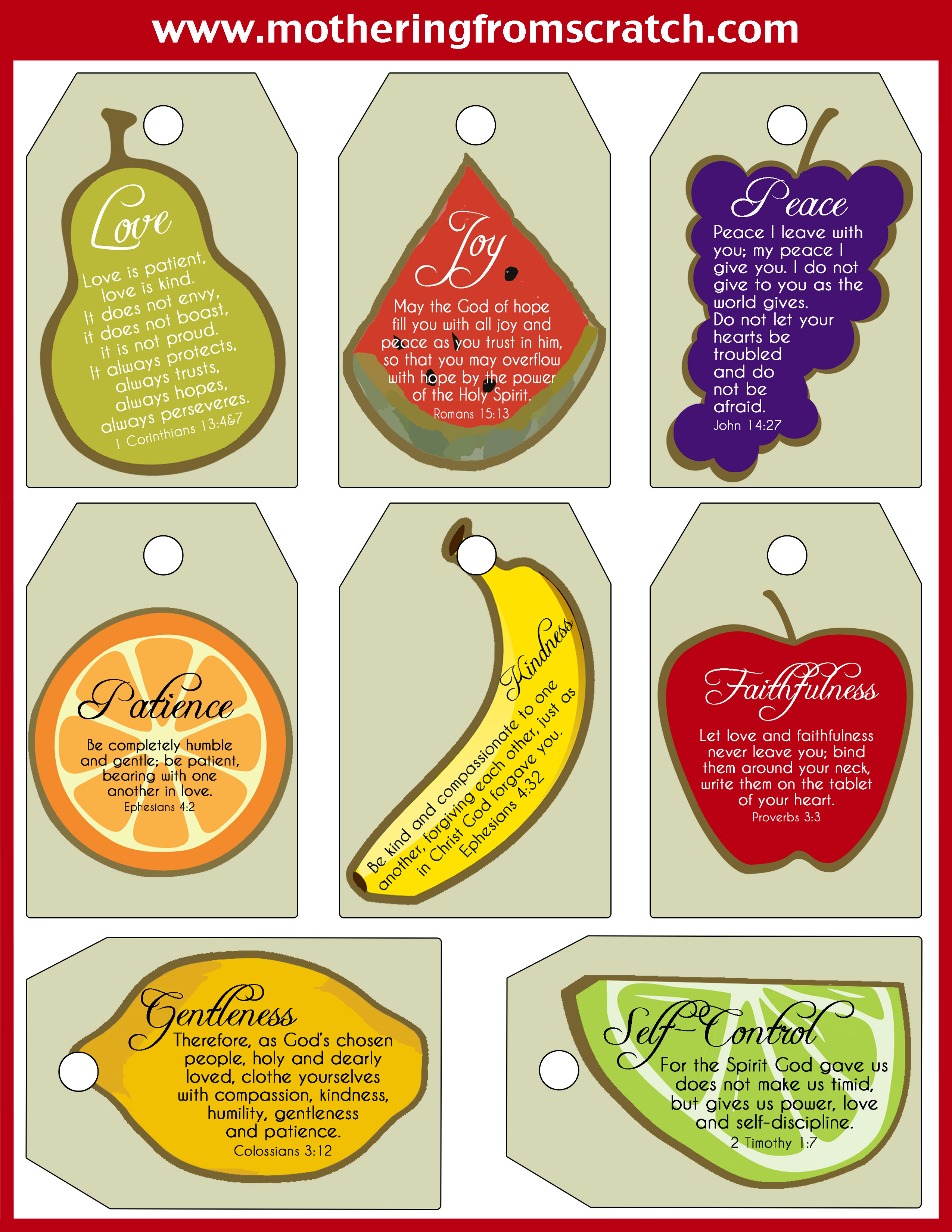 Best ideas about Fruit Of The Spirit Crafts For Kids . Save or Pin 4 ways to motivate tweens and teens Melinda Means Now.