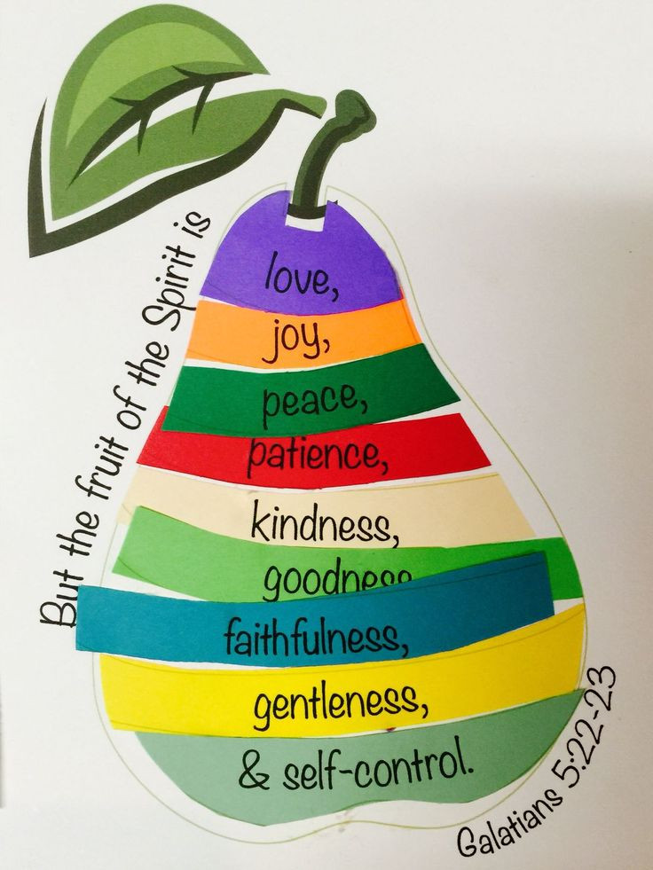 Best ideas about Fruit Of The Spirit Crafts For Kids . Save or Pin Pin by Marianne Barnard on Bible lessons Now.