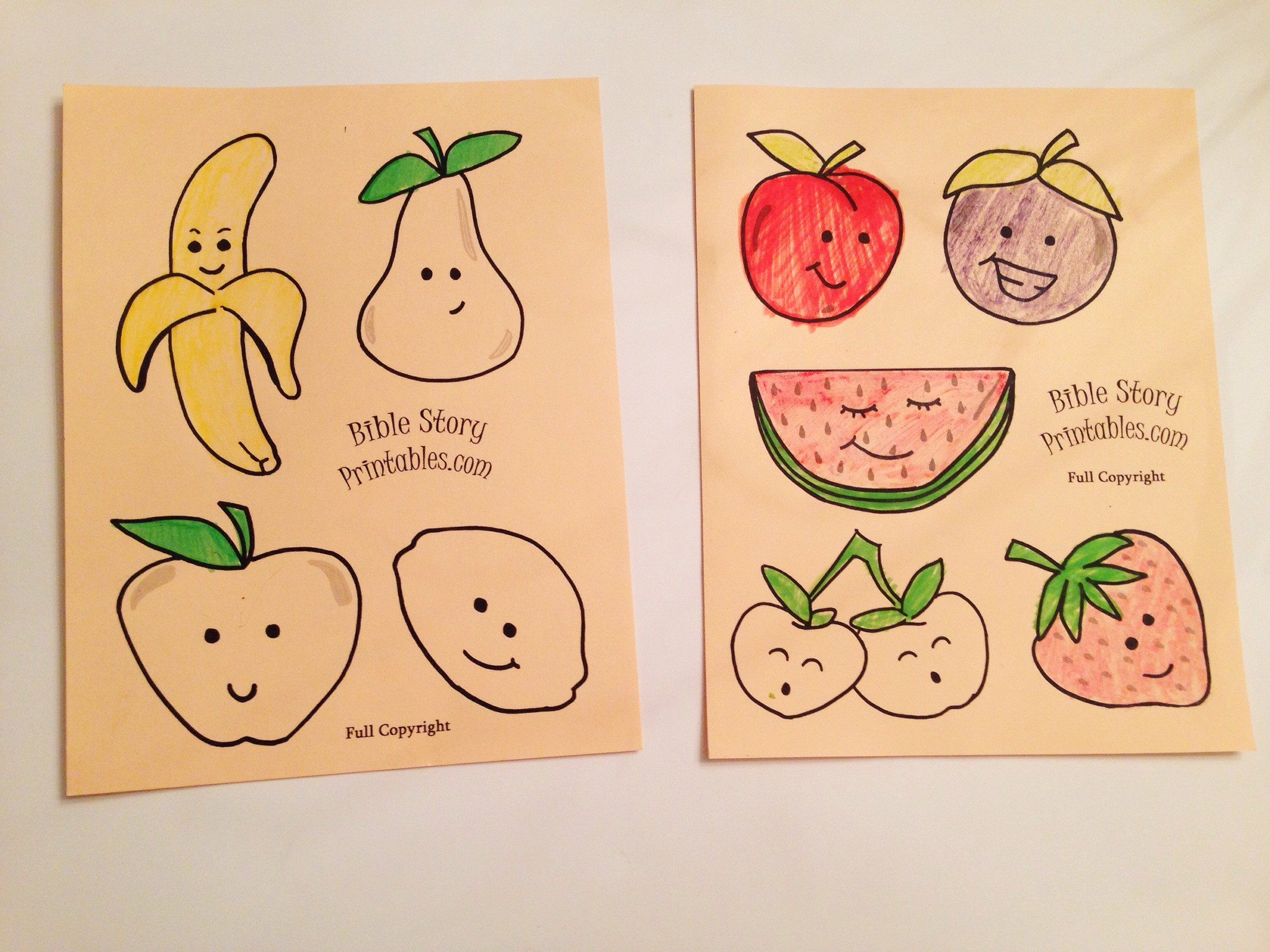 Best ideas about Fruit Of The Spirit Crafts For Kids . Save or Pin Easy Fruit of the Spirit Kids Craft Sunday School Crafts Now.