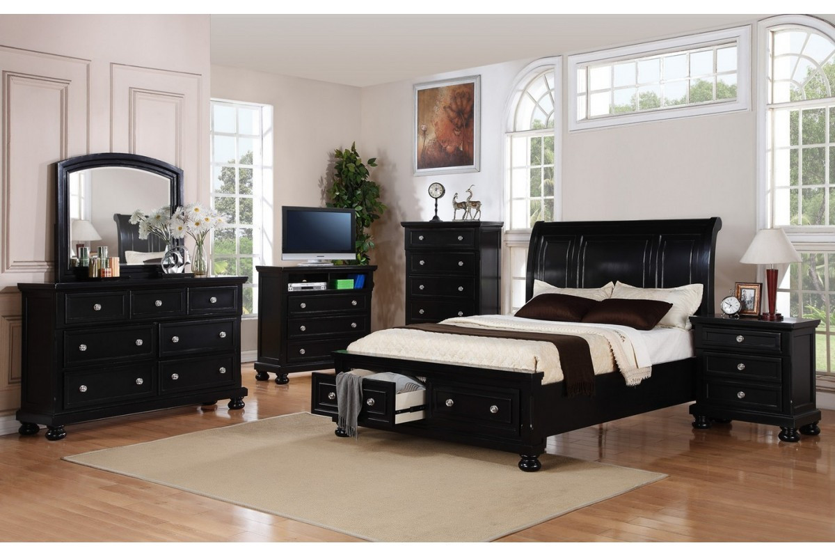 Best ideas about Full Bedroom Set . Save or Pin Bedroom Sets Peter Black Full Bedroom Set Now.