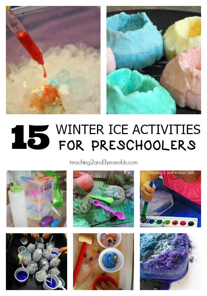Best ideas about Fun Activities For Preschoolers . Save or Pin 15 Fun Winter Ice Activities for Preschoolers Now.