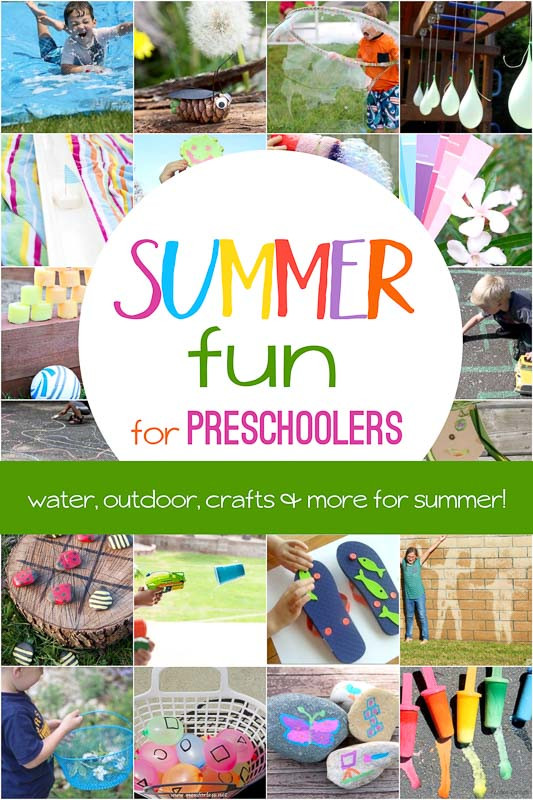 Best ideas about Fun Activities For Preschoolers . Save or Pin So Much Fun Summer Activities for Preschoolers Now.
