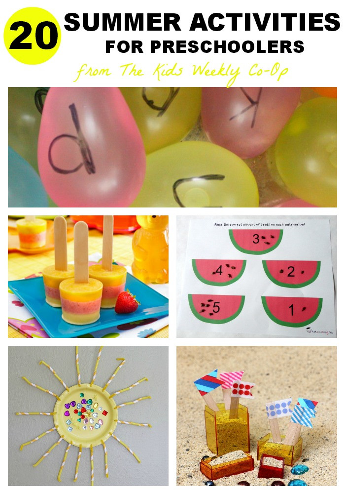 Best ideas about Fun Activities For Preschoolers . Save or Pin Summer Art Activities for Kids Mess for Less Now.