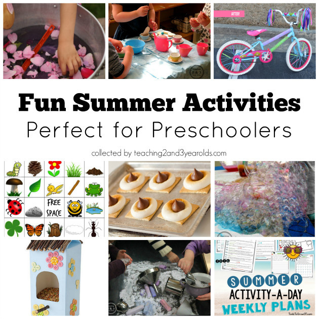 Best ideas about Fun Activities For Preschoolers . Save or Pin 46 Fun Preschool Summer Activities You Will Want to Try Now.