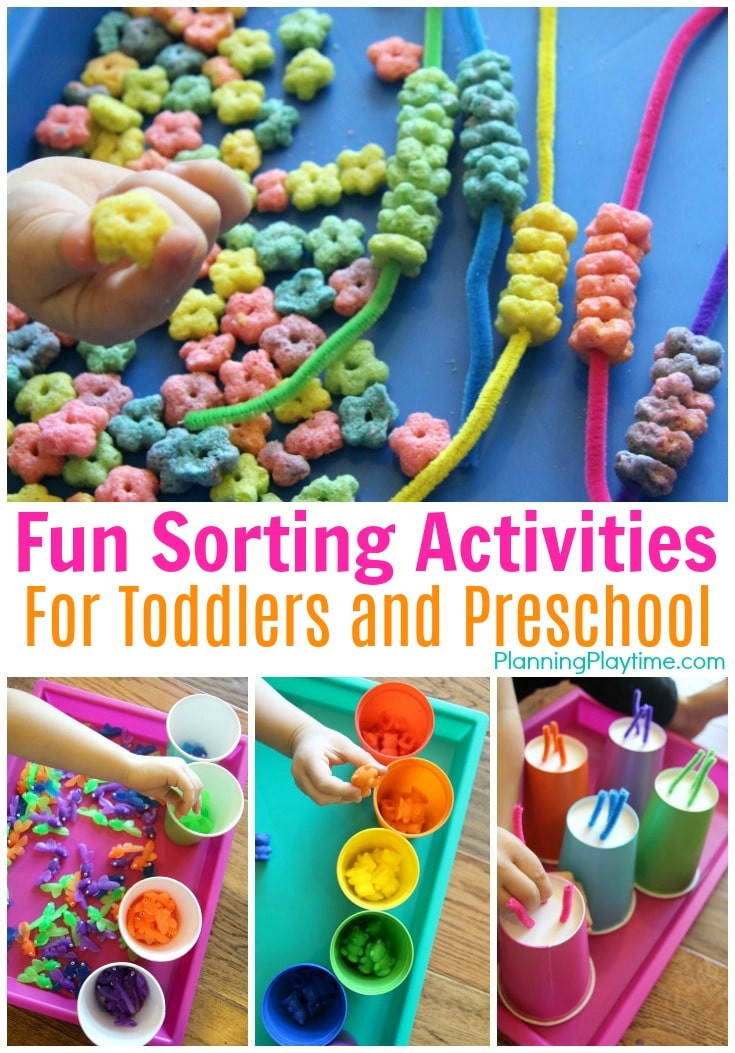 Best ideas about Fun Activities For Preschoolers . Save or Pin Sorting Activities for Preschool Planning Playtime Now.