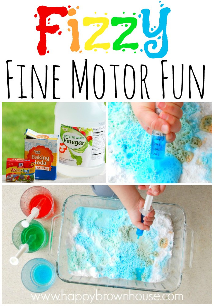 Best ideas about Fun Activities For Preschoolers . Save or Pin Fizzy Fine Motor Skills Fun For Preschoolers Now.