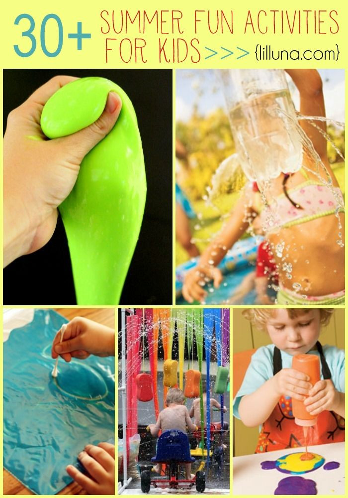 Best ideas about Fun Activities For Preschoolers . Save or Pin 30 Summer Fun Activities for Kids Now.
