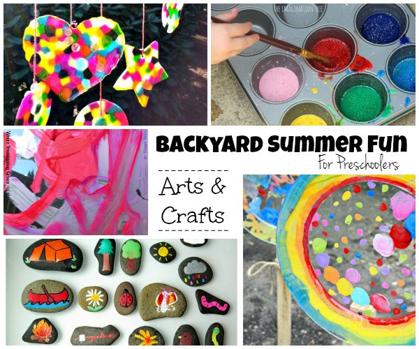 Best ideas about Fun Activities For Preschoolers . Save or Pin Summer Camp at Home 25 Fun Backyard Kids Activities Now.