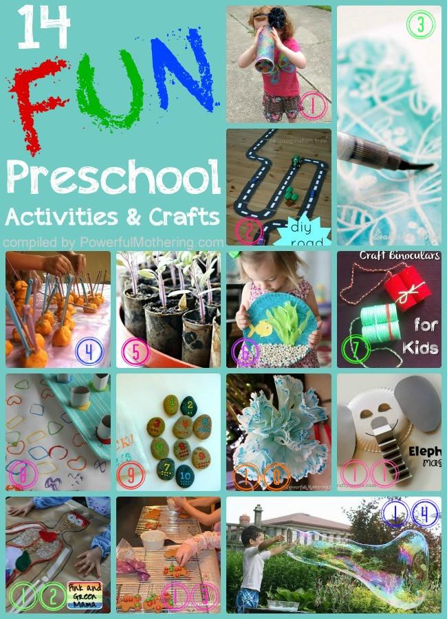 Best ideas about Fun Activities For Preschoolers . Save or Pin 14 Super Fun Activities and Crafts For Preschooler Kids Now.