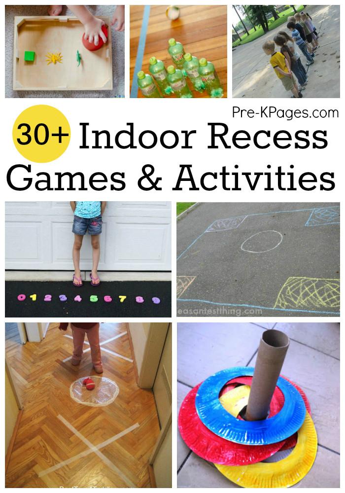 Best ideas about Fun Activities For Preschoolers . Save or Pin Indoor Recess Games for Preschoolers Now.