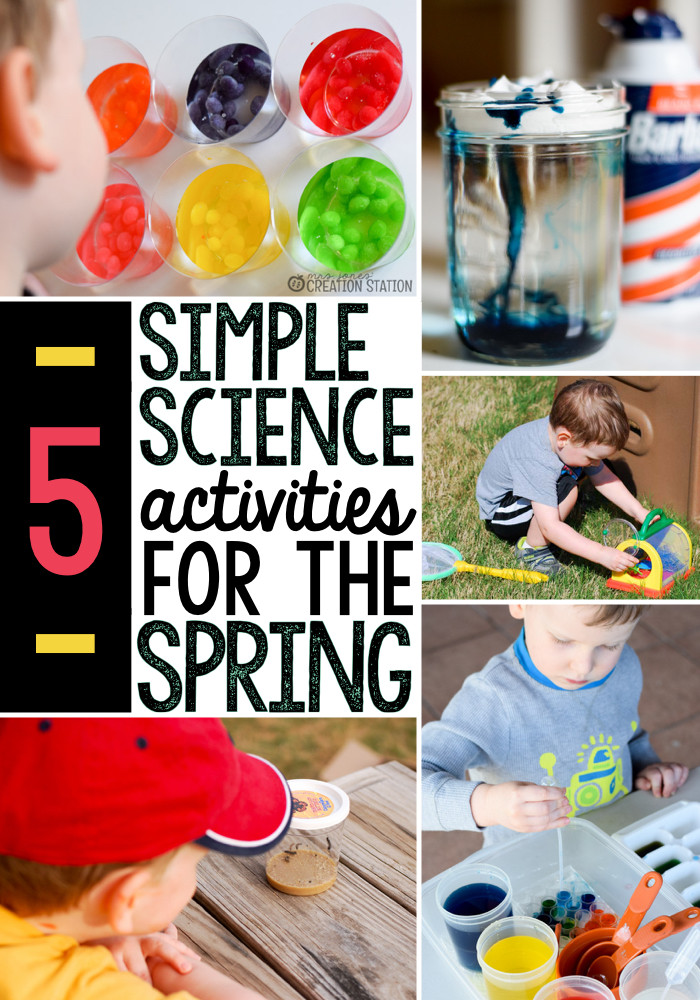 Best ideas about Fun Activities For Preschoolers . Save or Pin 5 Spring science activities The Measured Mom Now.
