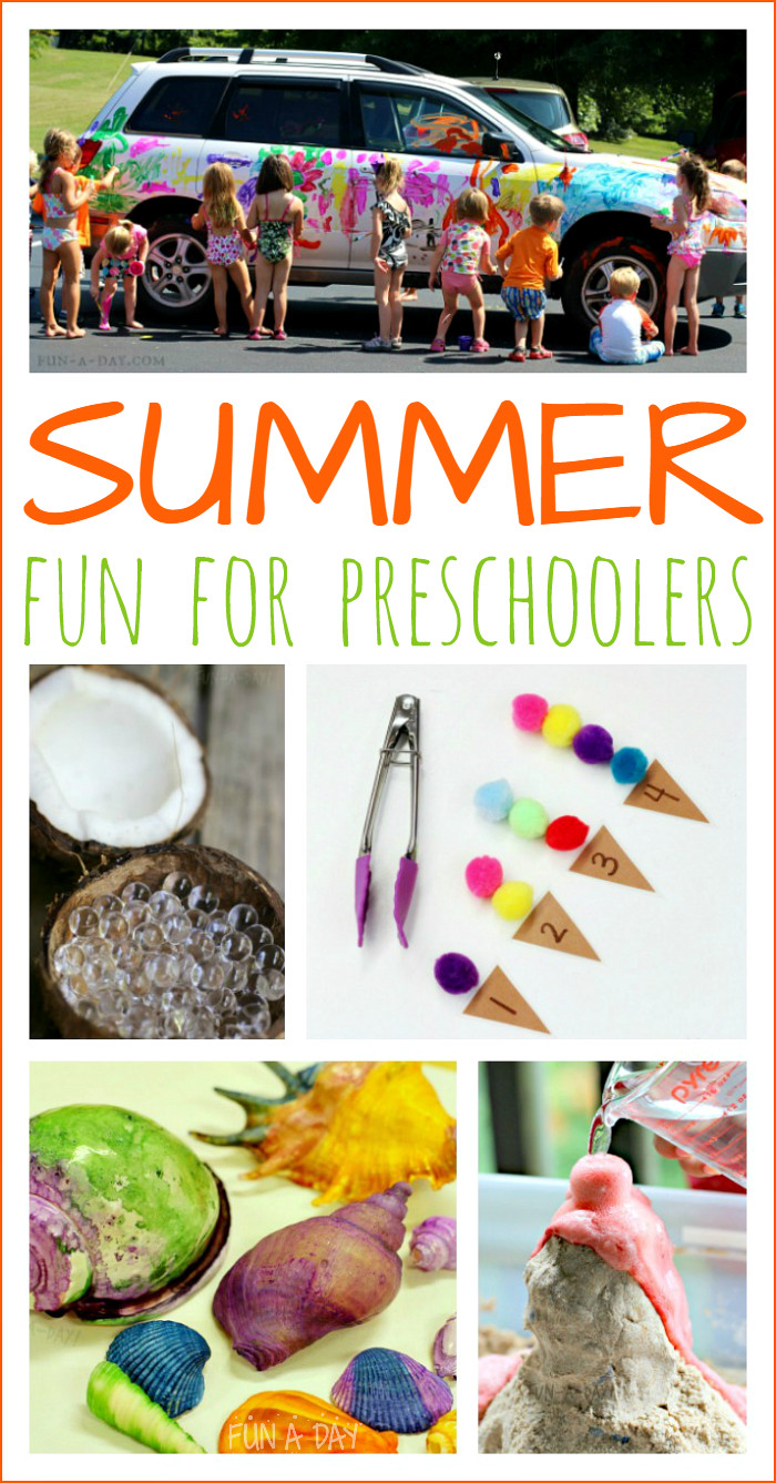 Best ideas about Fun Activities For Preschoolers . Save or Pin Summer Activities for Preschoolers Fun A Day Now.