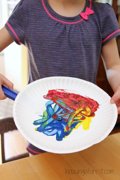 Best ideas about Fun Art Activities For Preschoolers . Save or Pin Preschool Art Activities Magnet Painting Now.
