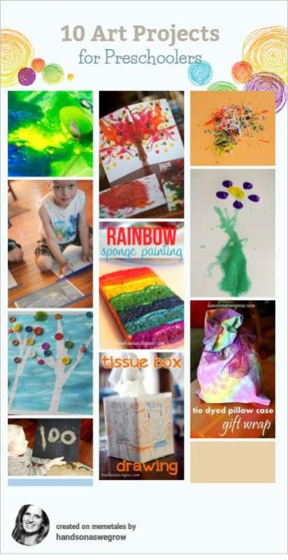 Best ideas about Fun Art Activities For Preschoolers . Save or Pin 10 Creative Art Activities for Preschoolers Now.