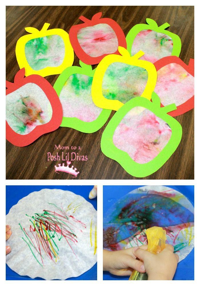 Best ideas about Fun Art Activities For Preschoolers . Save or Pin apple preschool ideas Now.