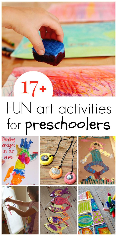 Best ideas about Fun Art Activities For Preschoolers . Save or Pin 17 Preschool Art Activities Now.