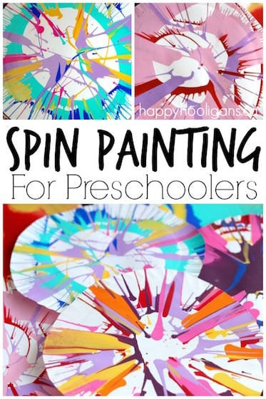 Best ideas about Fun Art Activities For Preschoolers . Save or Pin Spin Painting for Preschoolers Happy Hooligans Now.