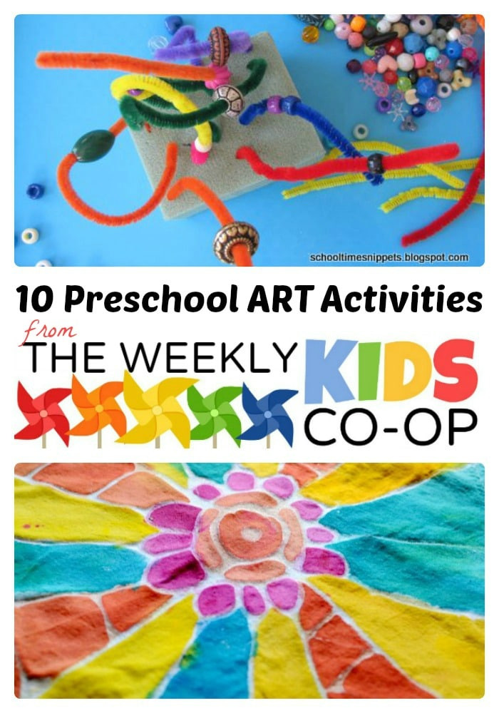Best ideas about Fun Art Activities For Preschoolers . Save or Pin 10 Preschool Art Activities from The Weekly Kids Co Op Now.