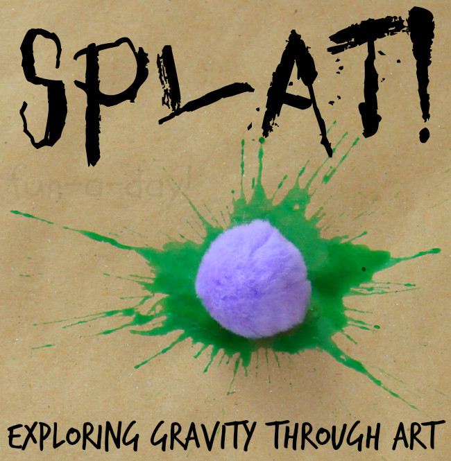 Best ideas about Fun Art Projects For Preschoolers . Save or Pin Drop Splat Playful Preschool Art with Watercolors Now.