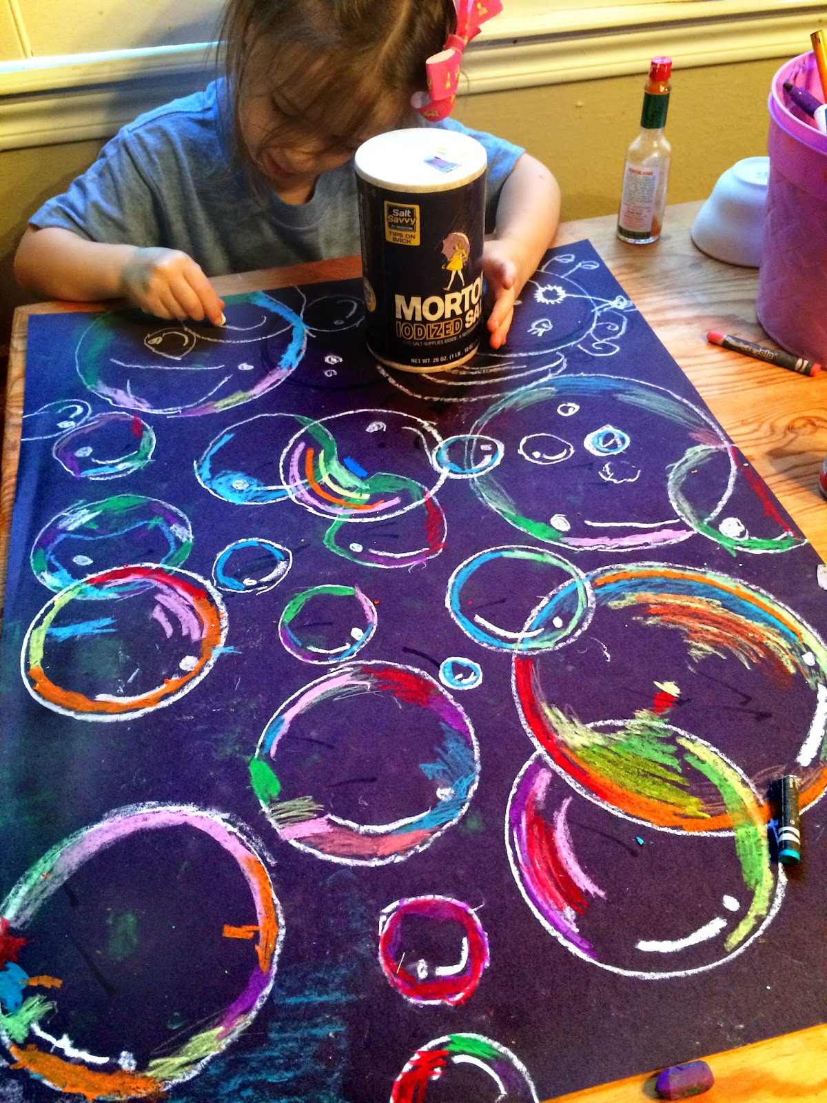 Best ideas about Fun Art Projects For Preschoolers . Save or Pin smART Class Floating on to grade End of the year Now.