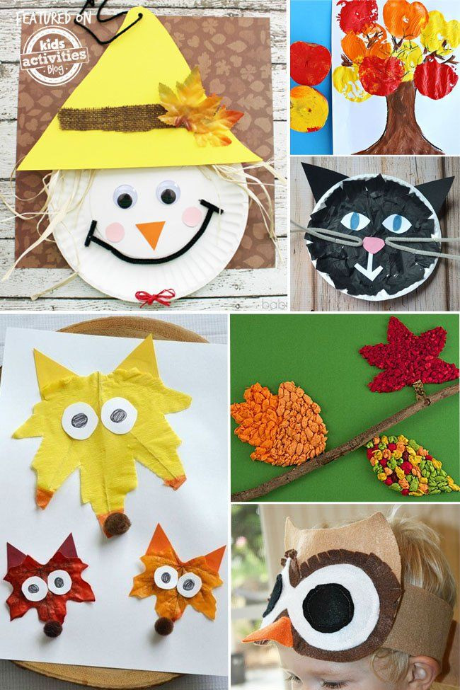 Best ideas about Fun Craft For Preschoolers . Save or Pin 24 Super Fun Preschool Fall Crafts Now.