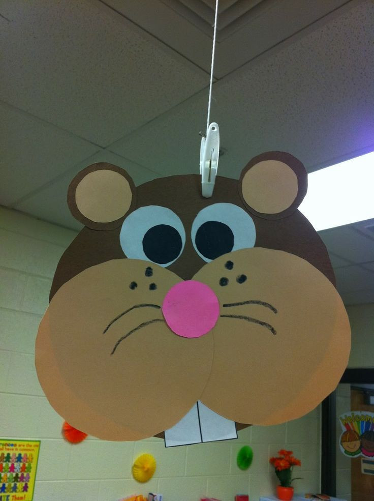 Best ideas about Fun Craft For Preschoolers . Save or Pin 25 Best Ideas about Groundhog Day on Pinterest Now.