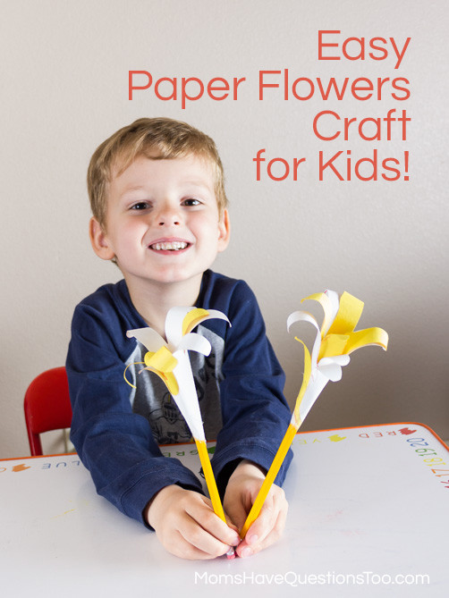 Best ideas about Fun Craft For Preschoolers . Save or Pin Handprint Lilies A Fun Spring Craft Idea Moms Have Now.
