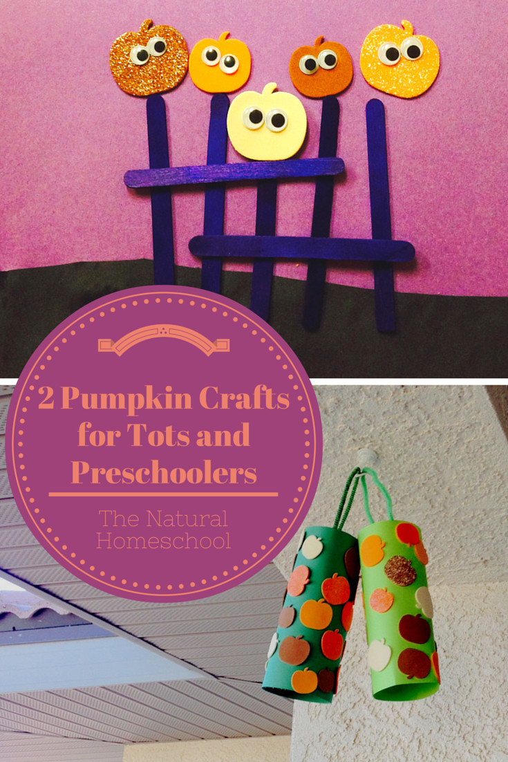 Best ideas about Fun Craft For Preschoolers . Save or Pin 2 Fun Pumpkin Crafts for Tots and Preschoolers The Now.